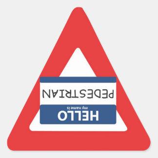 Yield to Pedestrian Sticker