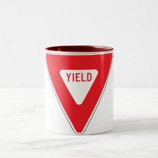 Yield Two-Tone Coffee Mug
