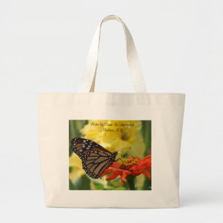 Yielding to Temptations - Customized Large Tote Bag