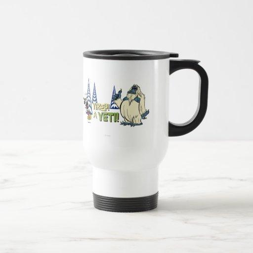 Yikes! A Yeti! Coffee Mugs | Zazzle