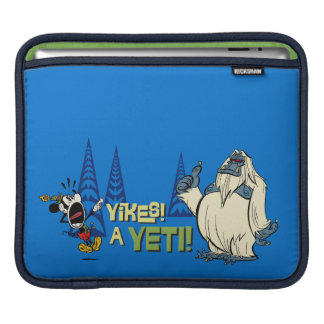 Yikes! A Yeti! Sleeve For iPads