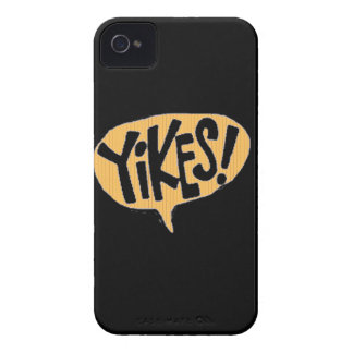 Yikes! Cartoon Exclamation Blackberry Case-Mate Ca iPhone 4 Covers