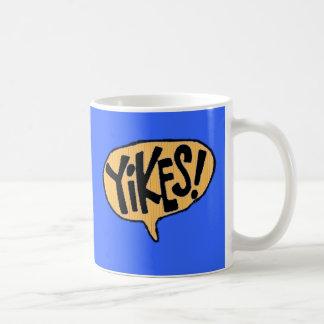 Yikes! Cartoon Exclamation Coffee Mug