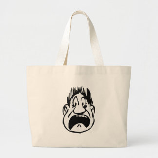 Yikes Large Tote Bag