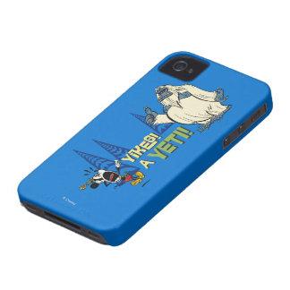 ¡Yikes! ¡Yeti! Case-Mate iPhone 4 Coberturas