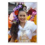 Yim Yai (sonrisa grande) Tarjeta