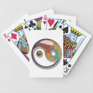 yin60 bicycle playing cards