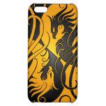 Yin amarillo y negro Yang Phoenix