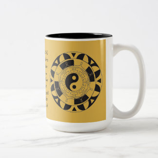 Yin and Yang Asian Symbol Meanings Mug