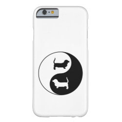 Yin And Yang Basset Hound Barely There iPhone 6 Case