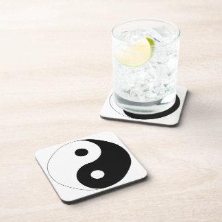 Yin and Yang Beverage Coaster