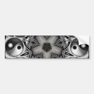Yin and Yang Bumper Stickers