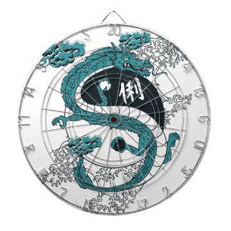 Yin and Yang Dragon Dartboards