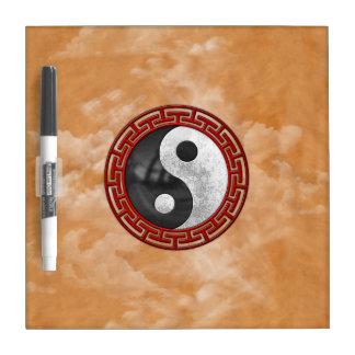 Yin and Yang Dry Erase Board
