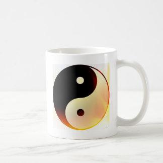 Yin and Yang Flame Coffee Mug