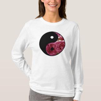 Yin And Yang Floral T-Shirt