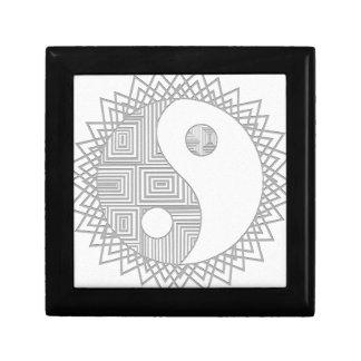 Yin and Yang I Trinket Box