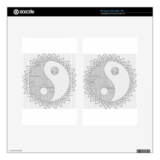 Yin and Yang I Kindle Fire Decal