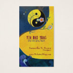 Yin and Yang Interior Design Business Cards