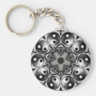 Yin and Yang Keychains