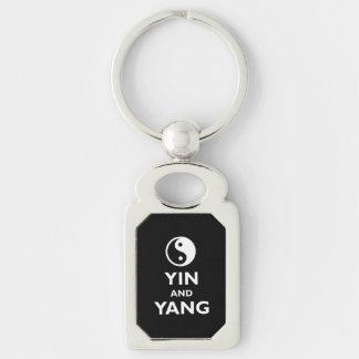 Yin and Yang Keychain
