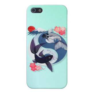 Yin and Yang Koi Case For iPhone 5