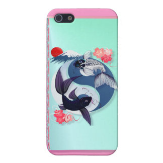 Yin and Yang Koi iPhone 5 Cases