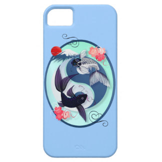 Yin and Yang Koi Oval iPhone 5 Case