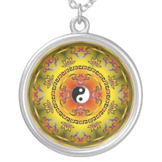 Yin and   Yang Mandala Pendant
