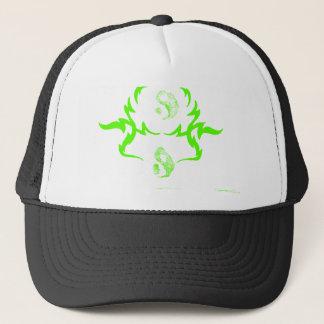 Yin and Yang Melting Fire CricketDiane Trucker Hat