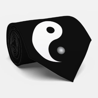 Yin and Yang Neck Tie