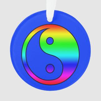 Yin and Yang Ornament