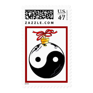 Yin and Yang Ornament Postage