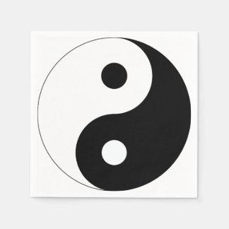 Yin and Yang Paper Napkin