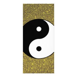 Yin and Yang Rack Card