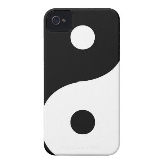 Yin And Yang Sides iPhone 4 Case
