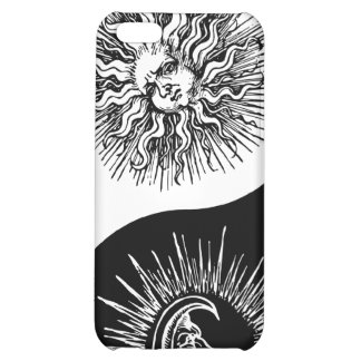 Yin and yang sign - Sun vs Moon iPhone 5C Cases