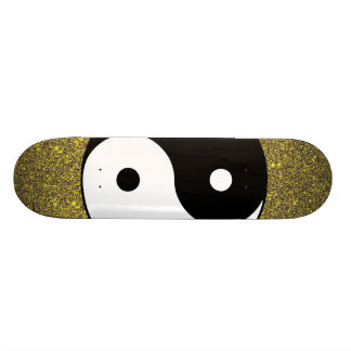 Yin and Yang Skateboard