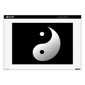 """Yin and Yang 15"""" Laptop Decals"""