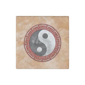 Yin and Yang Stone Magnet
