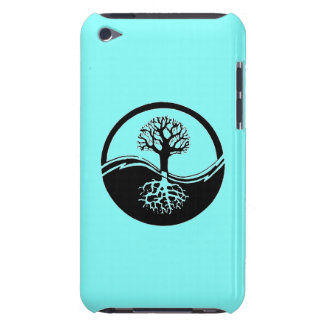 Yin and yang symbol ipod touch case