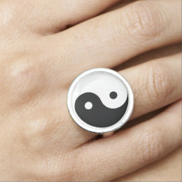 Yin and Yang | Taoism Photo Rings