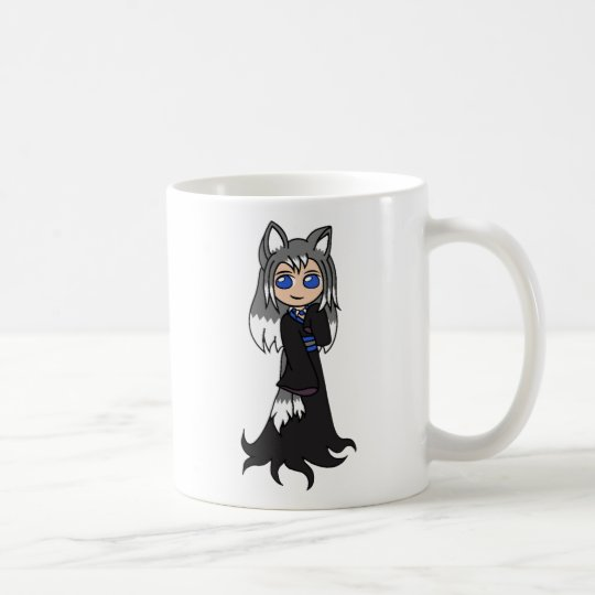 Yin And Yang The Fox Girls Kitsune Coffee Mug Zazzlecom