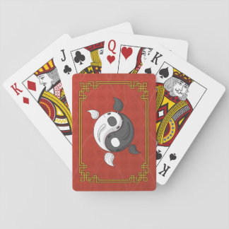 Yin and Yang the Koi Classic Playing Cards