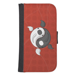 Yin and Yang the Koi Smartphone Wallet Case