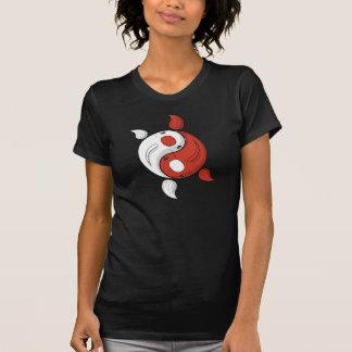 Yin and Yang the Koi Women's Dark Shirt