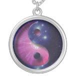 Yin and Yang Universe Symbol Necklace