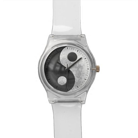 Yin And Yang Wrist Watch