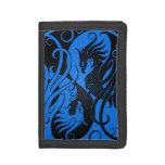 Yin azul y negro Yang Phoenix