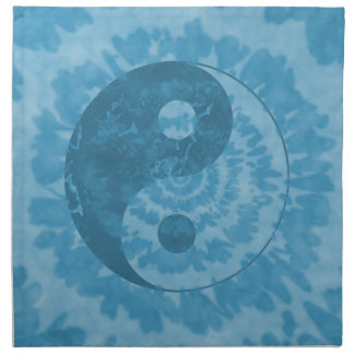 Yin azul Yang Servilleta